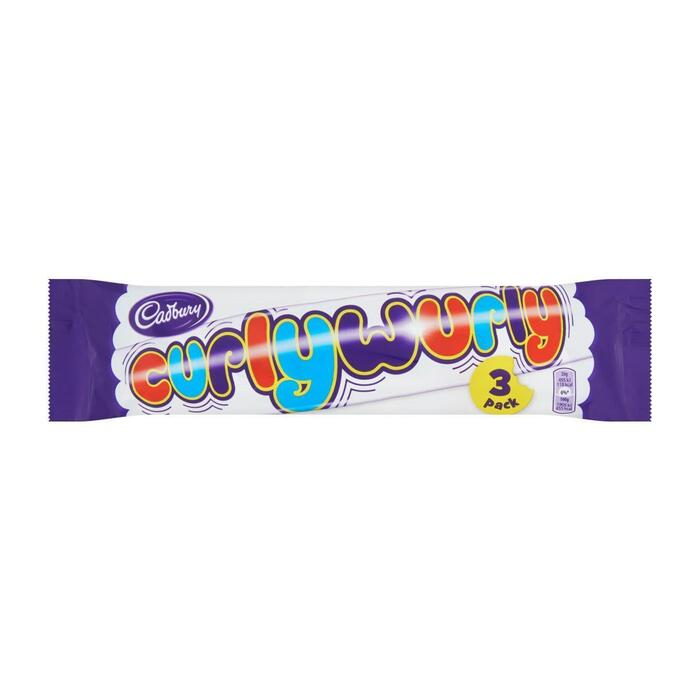 Cadbury Curly wurly 3-pack (3 × 78g)