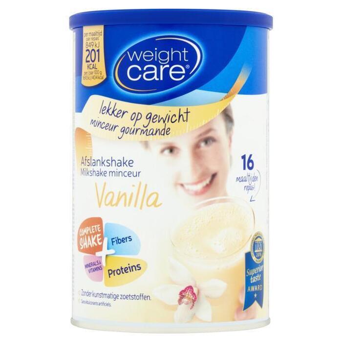 Weight Care Afslankshake Vanilla 324 g (Stuk, 436g)
