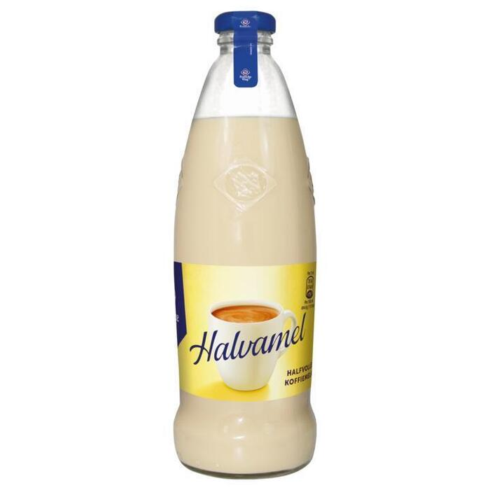 Friesche Vlag Halvamel Koffiemelk Fles 465ml (46.5cl)