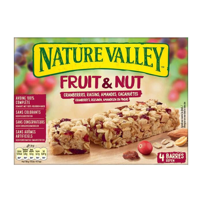 Nature Valley Fruit&Nut Cranberries (120g)