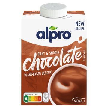 Alpro Vla soya chocolade (525g)