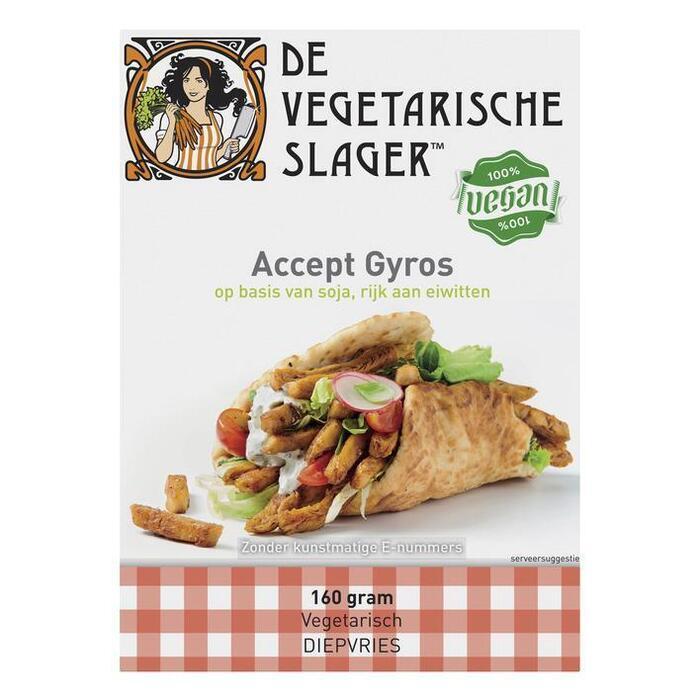 Vegetarische Slager Accept gyros (160g)
