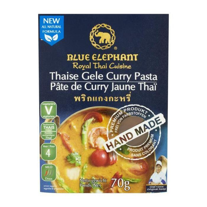 Thaise Gele Curry Pasta 70 g (70g)