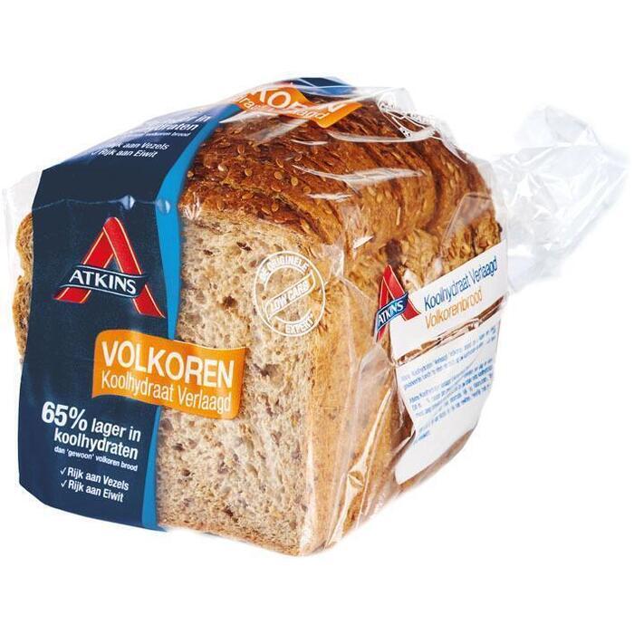 Atkins Laag koolhydraat volkoren brood half (400g)
