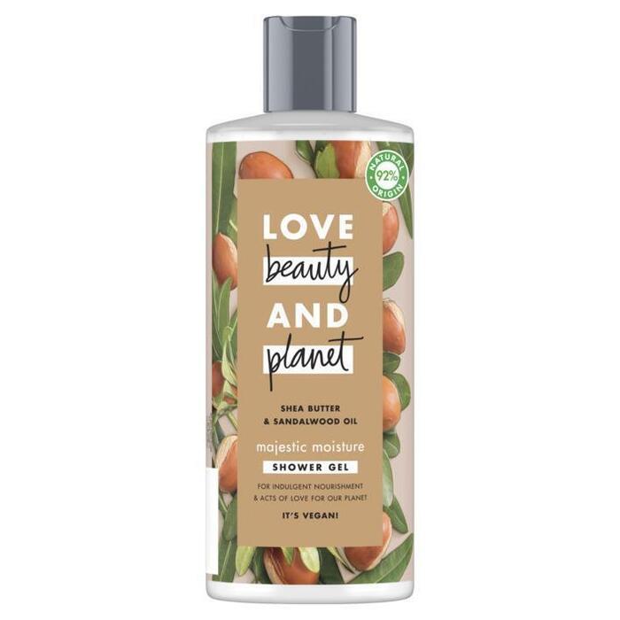Love Beauty Planet Shea butter & sandalwood showergel (0.5L)
