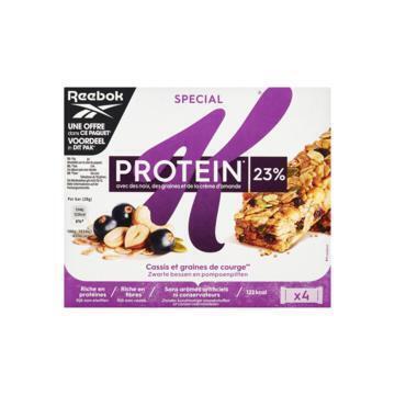 Kellogg's Special K Protein Zwarte Bessen Pompoenpitten Cashewnoot & Een Vleugje Amandelen 4 x 28 g (4 × 28g)