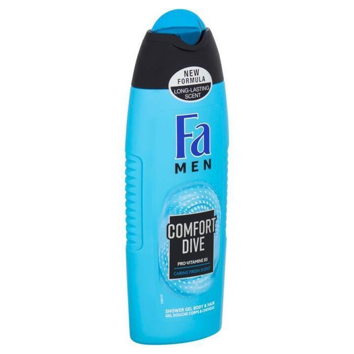 Fa Men Comfort Dive Douchegel & Shampoo 250 ml (250ml)