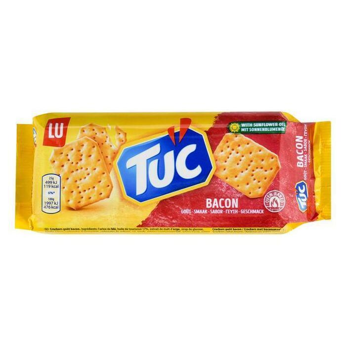 Tuc Crackers Bacon Zoutjes 100 g (Stuk, 100g)