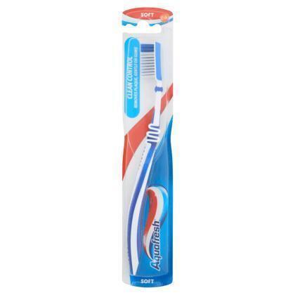 Aquafresh Clean control soft tandenborstel (blister)