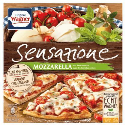 Pizza sensazione mozzarella (doos, 350g)