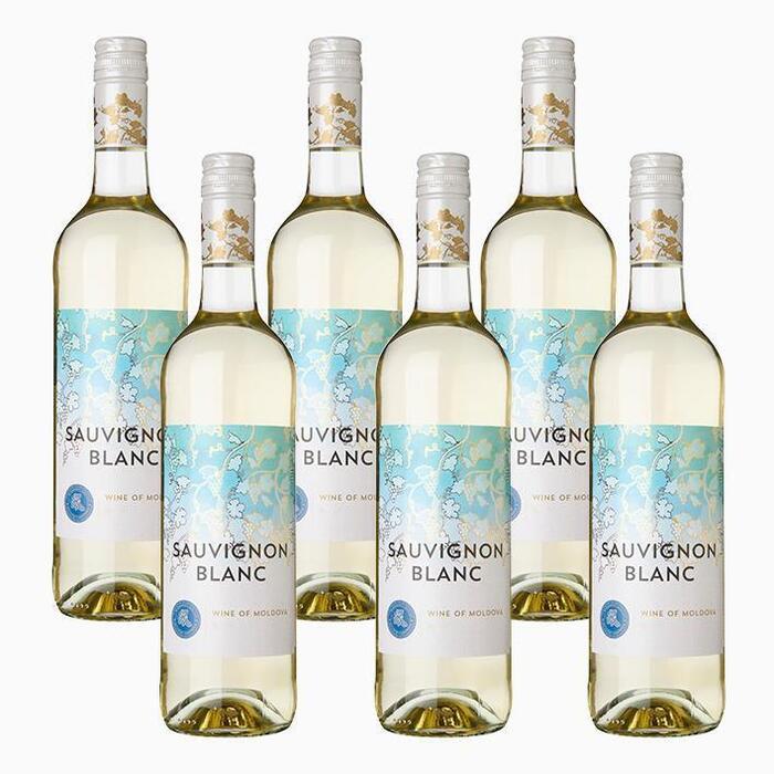 Delhaize Moldavi Sauvignon Blanc (6 × 0.75L)