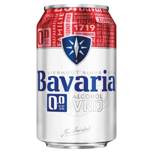 Bavaria 0.0% (rol, 33 × 33cl)