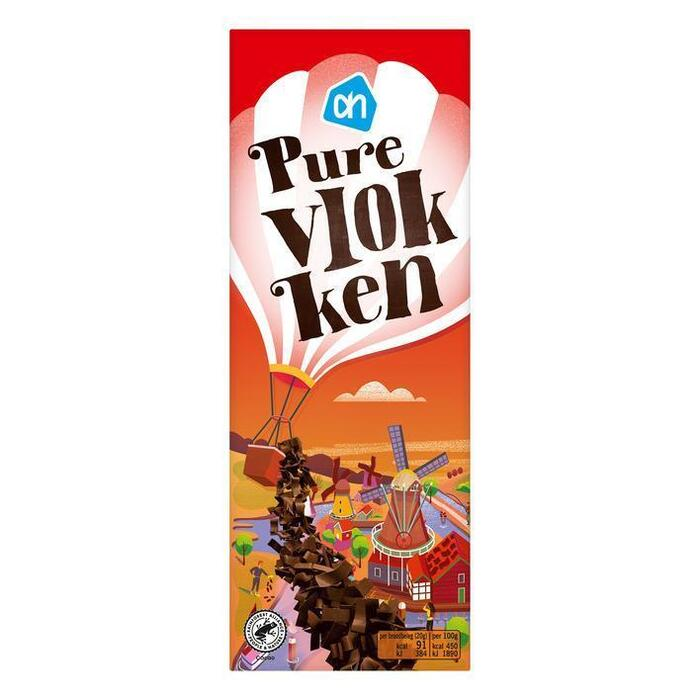 AH Pure chocolade vlokken (300g)