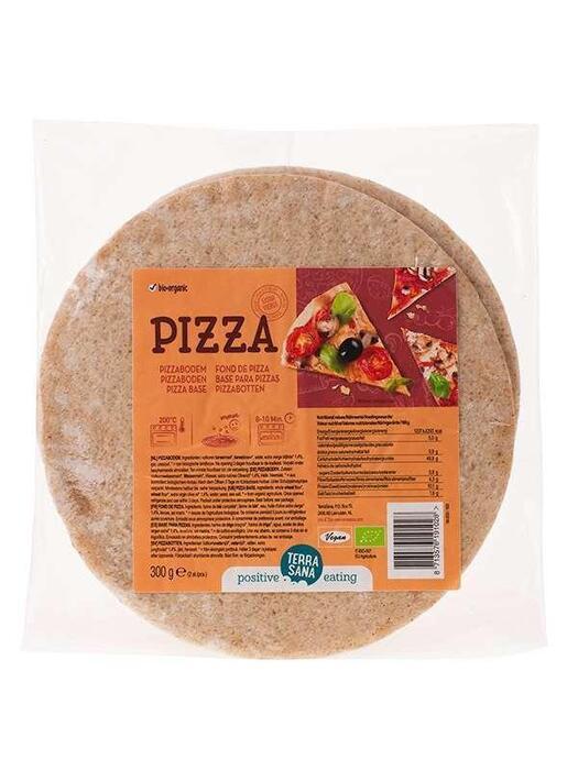 Pizzabodems (2 st) TerraSana 300g (300g)