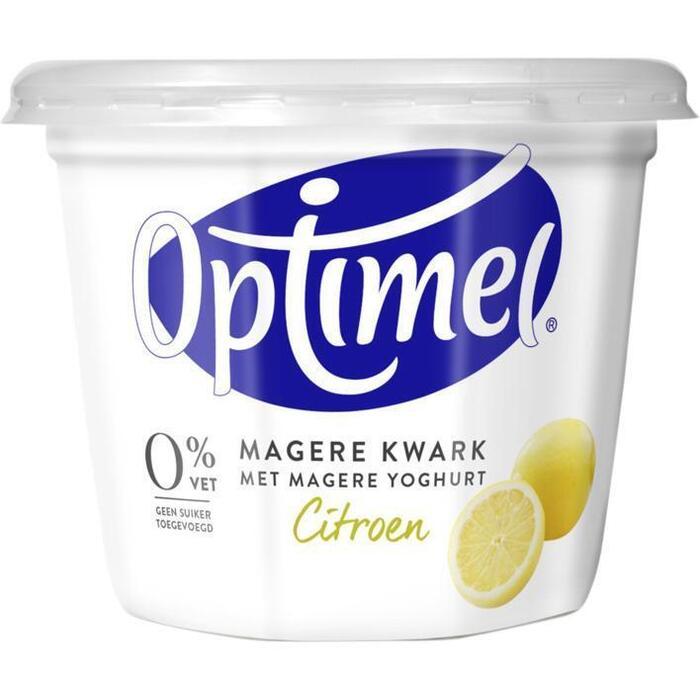 Optimel Magere Kwark Citroen 500g (Stuk, 500g)