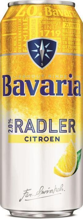 Bavaria Radler lemon 50cl (rol, 50 × 0.5L)