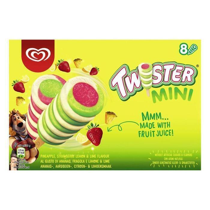 Mini Twister (Stuk, 8 × 40cl)