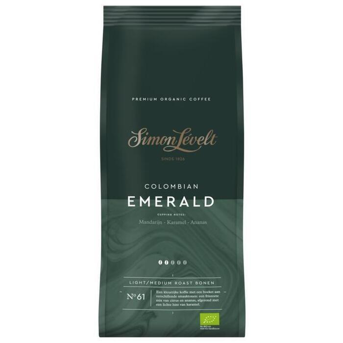 Simon Lévelt Colombian emerald koffiebonen (500g)