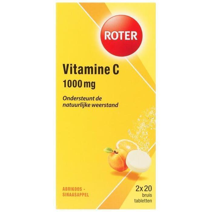 Roter Vitamine C 1000 mg Bruistabletten 2 x 20 Stuks (20 st.)