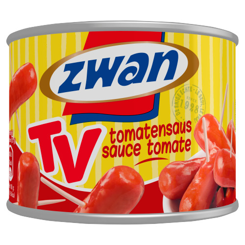 Zwan Worstjes in tomatensaus (210g)