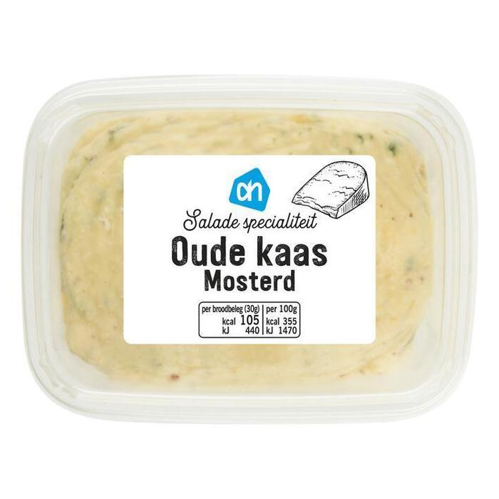 Saladespecialiteit oude kaas-mosterd (150g)