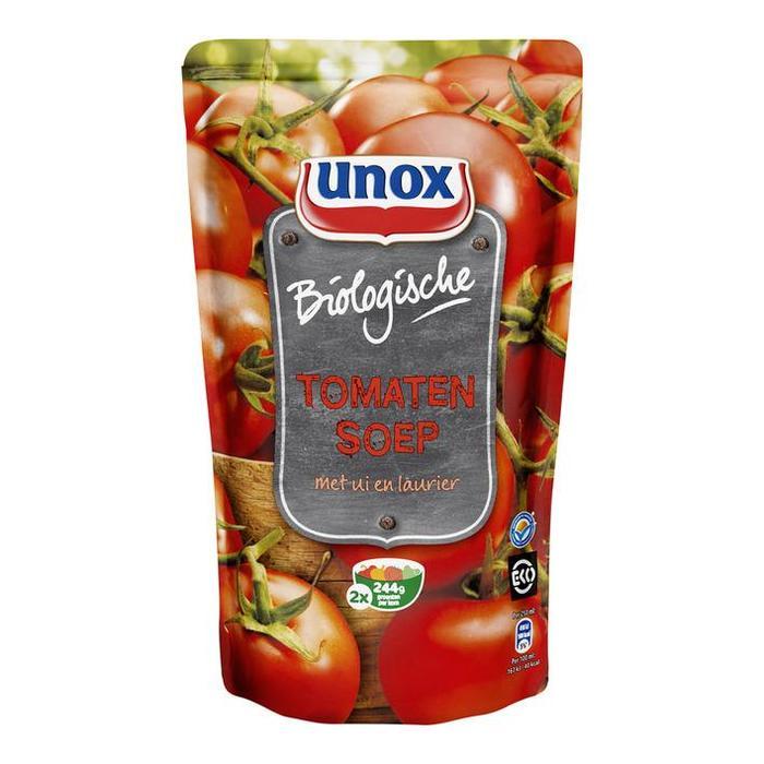 Biologische tomatensoep (plastic zak, 0.57L)