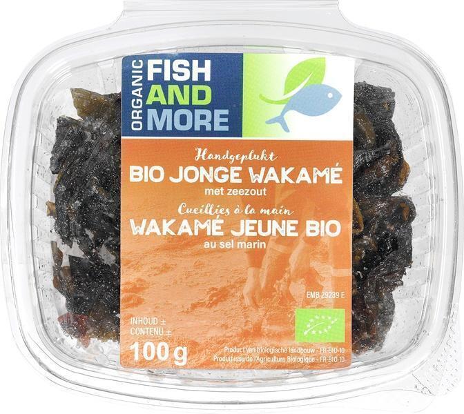 Jonge wakamé zeewier (100g)