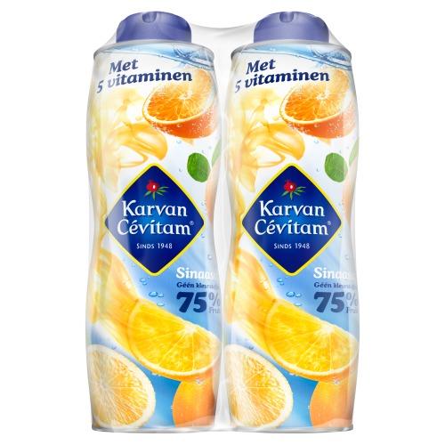 Karvan Cévitam Sinaasappel 2 x 750 ml (0.75L)