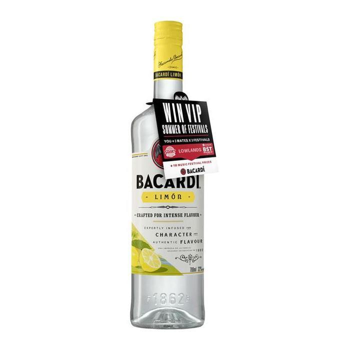 Bacardi Limón (rol, 70 × 0.7L)