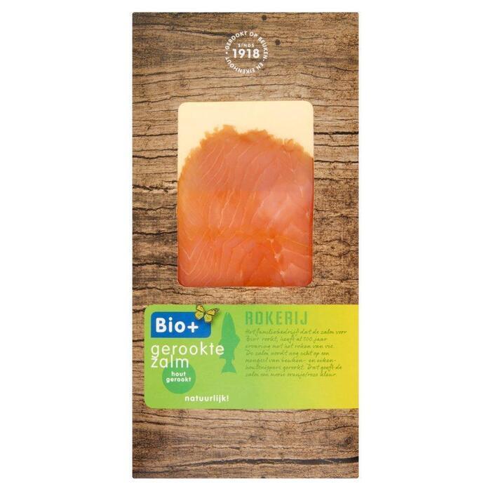 Bio+ Gerookte zalm (100g)