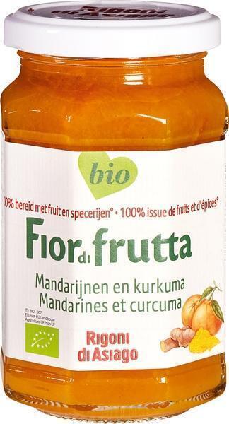 Fiordifrutta Mandarijn met Curcuma (260g)