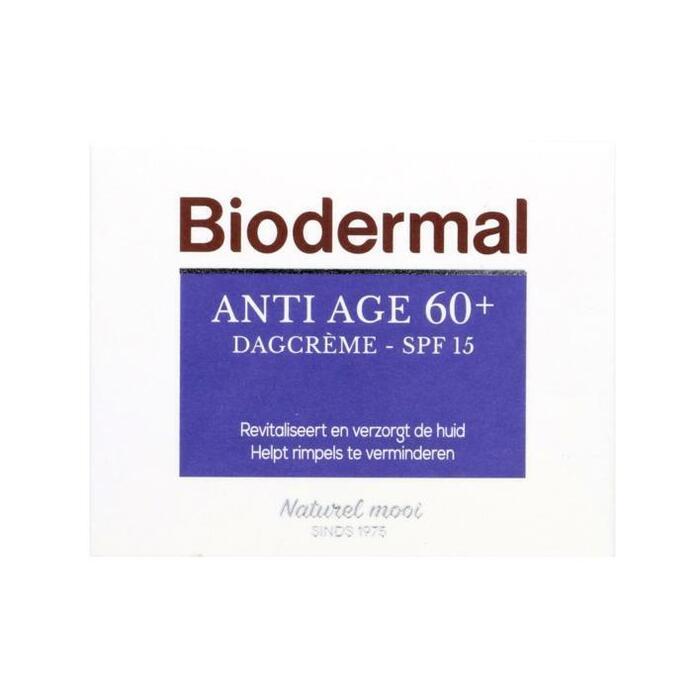 Biodermal Anti-age 60+ dagcrème (50ml)