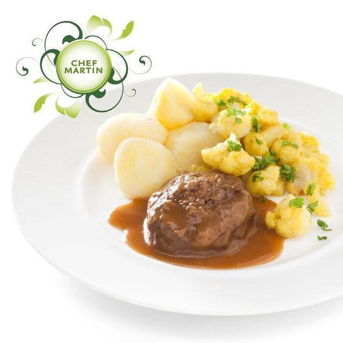 Chef Martin Rundergehaktbal, bloemkool met saus (540g)