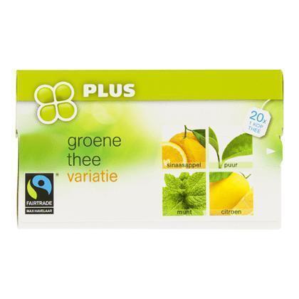 Groene thee variatie 1-kops (40g)