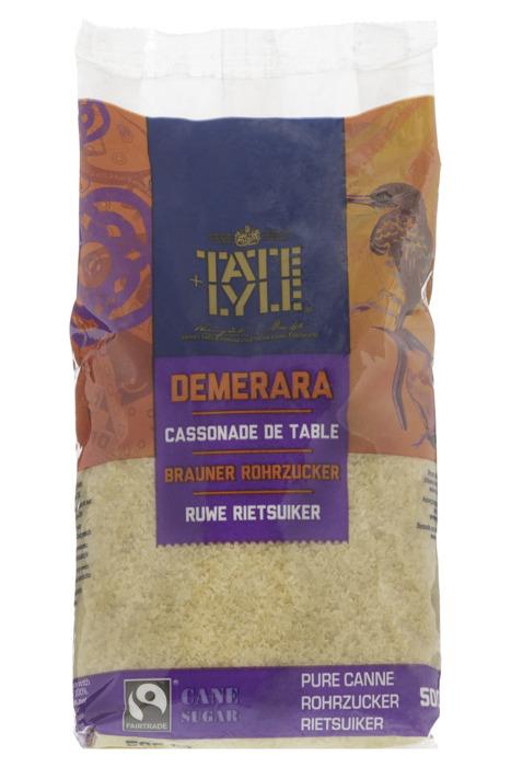 Tate & Lyle Rietsuiker Demerara 500 gram Stazak (500g)