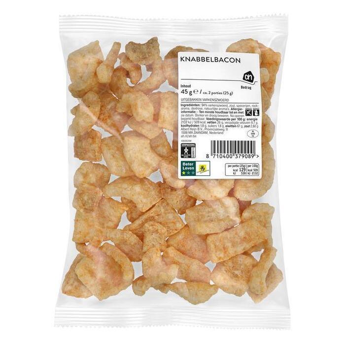Zeeuwse knabbelbacon (zak, 45g)