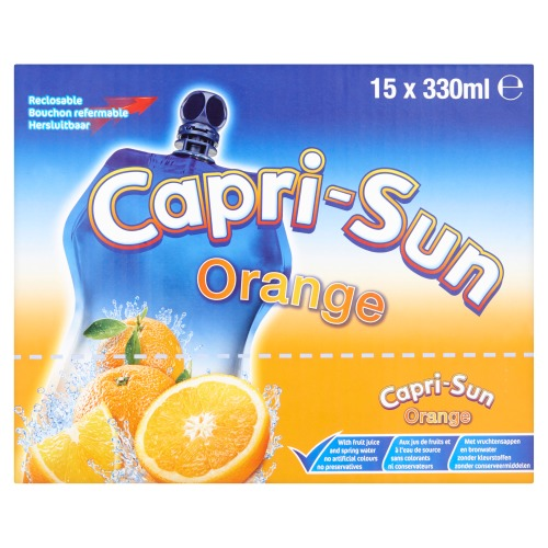Orange 15 x 330 ml (33cl)