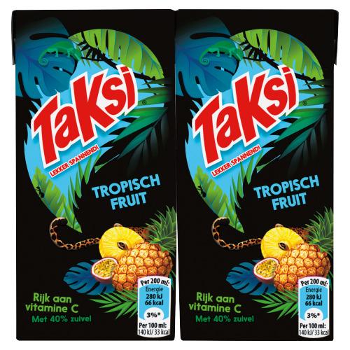 Taksi tropisch fruit 6 x 0,2 L (200ml)