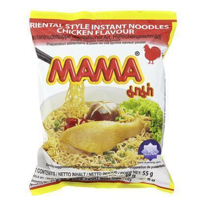 Mama Instant Noedels met Kipsmaak 55g (55g)
