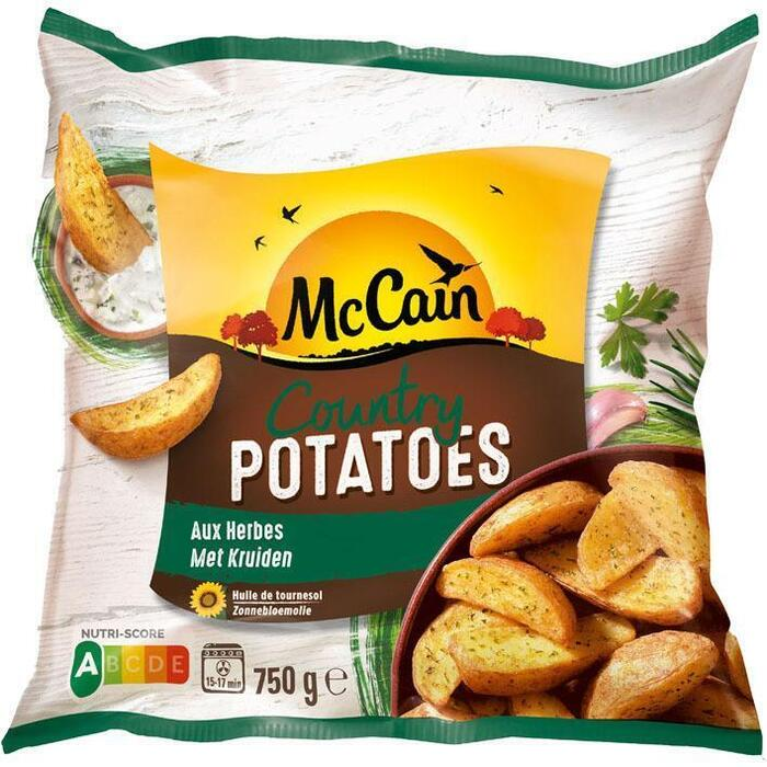 McCain Country potatoes (750g)