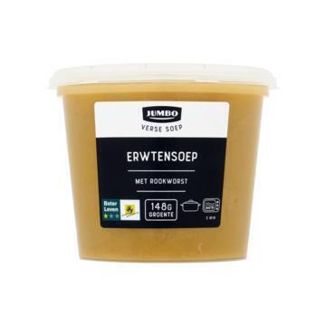 Jumbo Verse Soep Erwtensoep met Rookworst 500 g (500g)