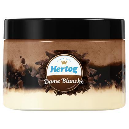 Hertog IJs Dame Blanche 130 ml (130ml)