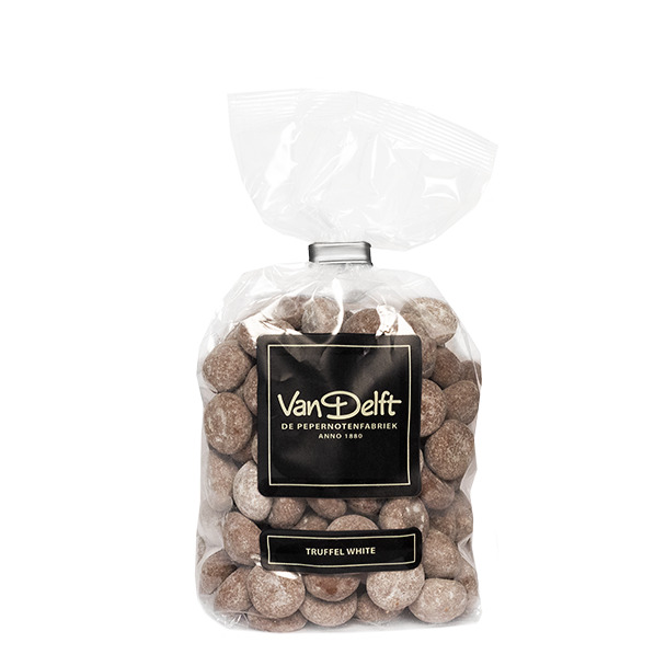 Van Delft Pepernotenfabriek truffel wit (250g)