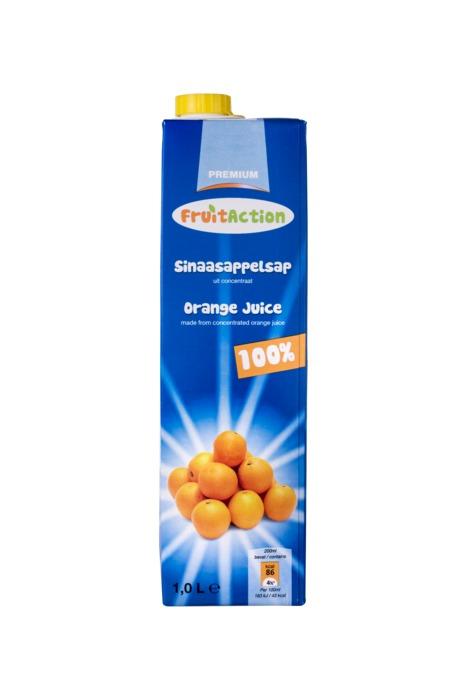 Sinaasappelsap (pak, 1L)