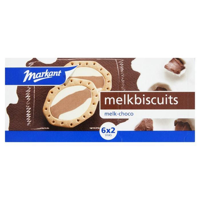 Markant melkbiscuit melk choco 245 gr (245g)