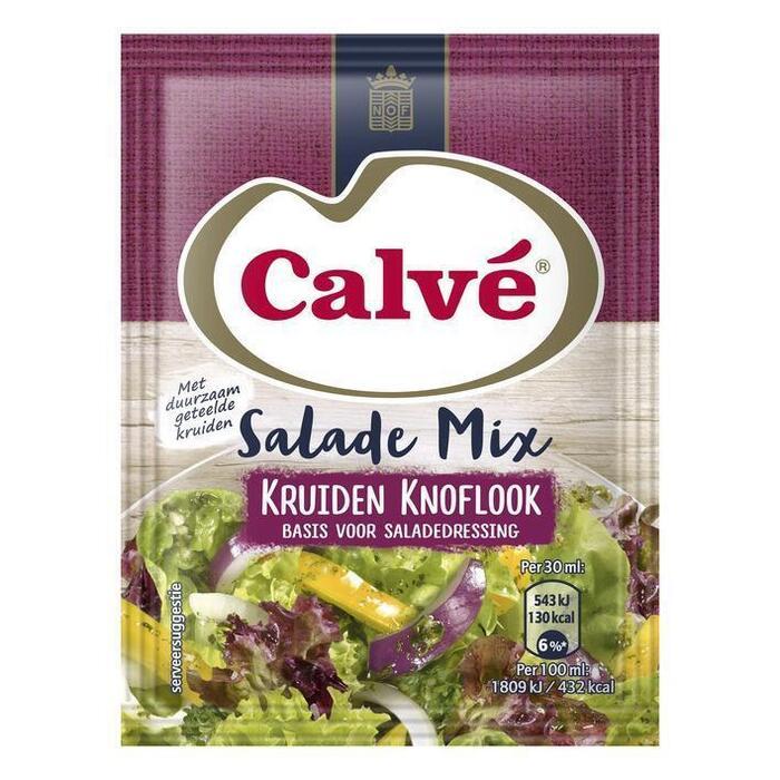 Salademix kruiden knoflook (24g)