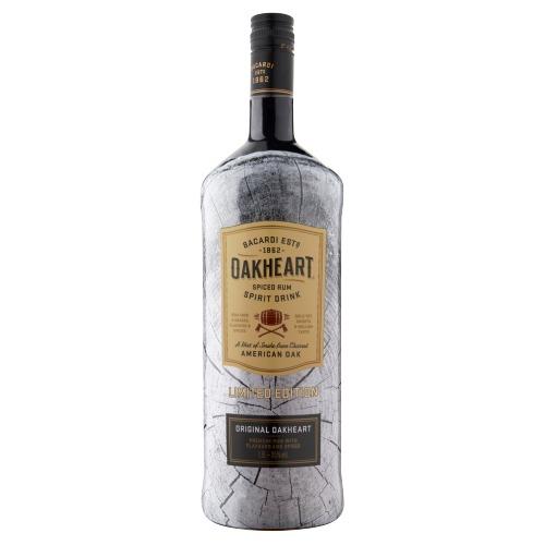 Bacardi Oakheart 150cl 35% a 6 (rol, 150 × 1.5L)