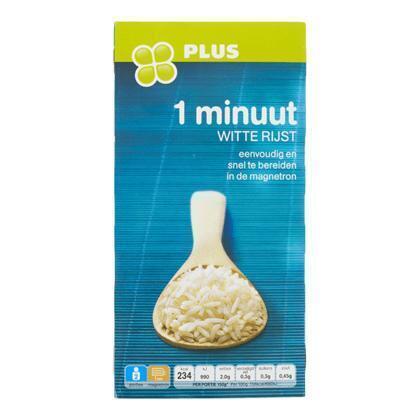 1-minuut witte rijst 2 x 150 gram (300g)