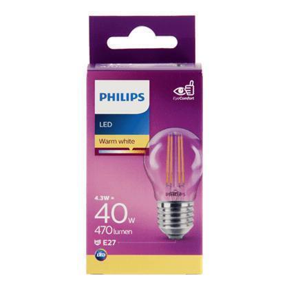 Philips Fil kogel E27 40W