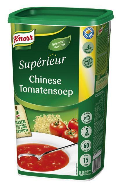 Knorr Supérieur Chinese Tomatensoep (6 × 1.35kg)